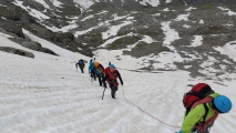 <h5>Pentes de neige sous le glacier</h5><p>                                                                                                                                                         </p>