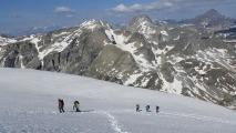 <h5>Sur le glacier Ferrand</h5><p>                                                                                                                                                         </p>