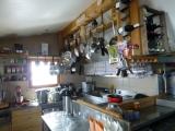 <p>La cuisine du refuge</p>